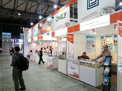 美科半導體參加2014年韓國電子展會